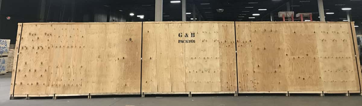 G&B Packing Company for Boxing and Crating Services