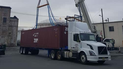 Trucking service for Packing and Delivery by G&B Packing Company